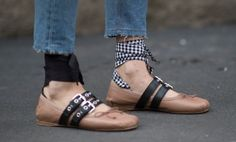 mural fashion: sapatilhas inspiradas no ballet