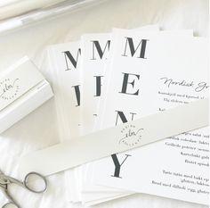 Wedding Stationary, Modern, Tarte Tatin, Wedding Stationery, Trendy Tree