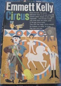 COLORFORMS: 1960 Emmet Kelly Circus #Vintage #Toys