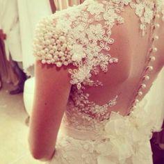 vestido de noiva bordado com perola - Pesquisa Google