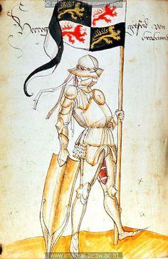 Herzog Gottfried von Brabant, Tirol, ca 1475-1500
