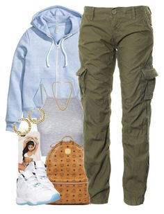 """""""Untitled #1382"""" by power-beauty ❤ liked on Polyvore featuring moda, H&M, Glamorous, MCM, Superdry y Kenneth Jay Lane"""