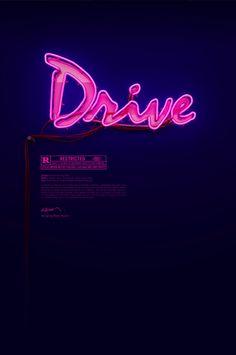 """Drive"", 3D poster design by Rizon Parein"