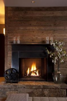 interesting fireplace - wood durround  Vail CO - Trulia
