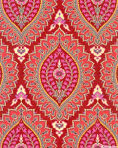 Amy Butler I Imperial Paisley Textile Pattern Design, Paisley Pattern, Textile Patterns, Textile Prints, Pattern Art, Pattern Paper, Fabric Design, Print Patterns, Print Design