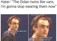 Collection of fun humor memes and dank pictures Ethan And Grayson Dolan, Ethan Dolan, Funny Memes, Hilarious, Jokes, Kid Memes, Funniest Memes, Memes Humor, Humor Gospel