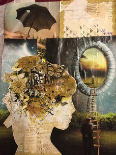 SPLAT PAINT - ART Journaling: Art Journaling: Portal