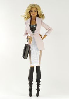 Alex (FR2 body) inc. jacket, top, skirt, bag, boots. By Dagamoart