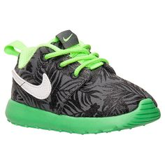 Boys' Toddler Nike Roshe One Print Casual Shoes - 677783 003 | Finish Line