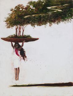 Palomino Oleo sobre tela Palomino, Dream Catcher, Beautiful, Decor, Tela, Women, Paintings, Butterflies, Dibujo