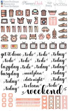 Birthday Planner Stickers UK, Bullet Journal Stickers, Balloon Stickers for  Erin Condren Life Planner