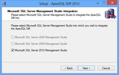 Compare SQL databases directly in SSMS