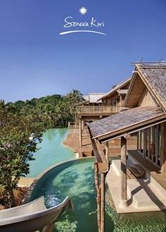 Soneva Kiri Resort & Residences Thailand, Mansions, House Styles, Outdoor Decor, Home Decor, Decoration Home, Room Decor, Fancy Houses, Mansion