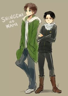levi, yato, and crossover image