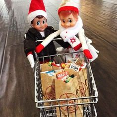 elf-shelf-grocery-shopping