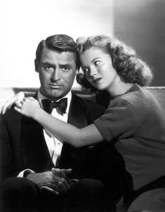 Cary Grant and Shirley Temple. The Bachelor and the Bobby-Soxer