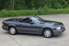 1994 Mercedes 500 SL...back when a Mercedes looked like a Mercedes, not a Ford Taurus.