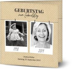 Einladung Geburtstag Polaroid Zeitstrahl - Einladungskarten zum 40. Geburtstag gestalten | Optimalprint Motto, Polaroid Film, Frame, Holiday, Picture Frame, Frames, Hoop, Picture Frames