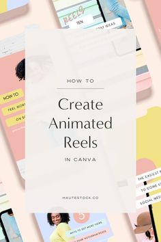How to Create Animated Instagram Reels in Canva Find Instagram, Instagram Tips, Instagram Posts, Social Media Quotes, Social Media Tips, Social Media Cheat Sheet, Social Media Detox, How To Make Animations, Instagram Marketing Tips