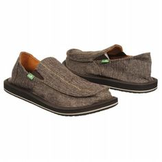 Sanuk VAGABOND STITCH Shoes (Brown) - Men's Shoes - 8.0 M