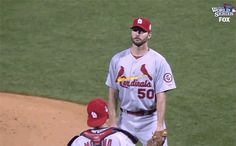 Adam Wainwright had a Richie Tenenbaum moment.