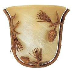 "Pine Grove Collection Pinetree 10 1/2"" Wall Sconce 