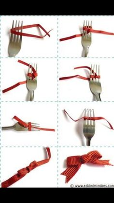 Make a Bow on a Fork