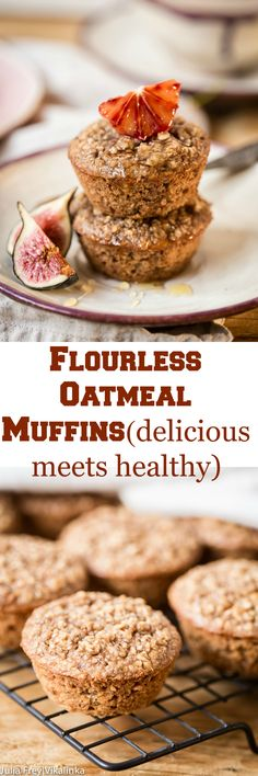 These delicious oatmeal muffins are jam packed with nutrients that will keep you going till lunch. Better yet they are made with no flour!