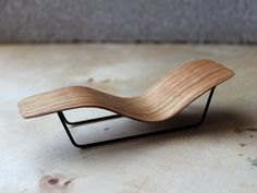 micro bent plywood chaise lounge.