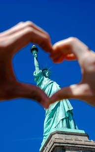 I love New York – Freiheitsstatue Statue of Liberty