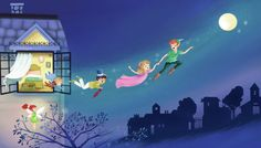 Off to Neverland | Publishing | Drawn to better | Astound.us