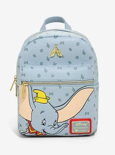 0c7b0480590 Loungefly Disney Dumbo Letters Mini Backpack - BoxLunch Exclusive