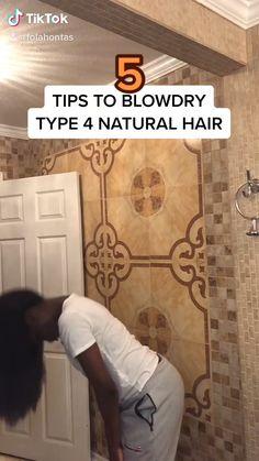Natural Hair Growth Tips, Pelo Natural, Long Natural Hair, Natural Hair Styles, Curly Hair Tips, 4c Hair, Curly Hair Styles, Girls Natural Hairstyles, Black Hairstyles