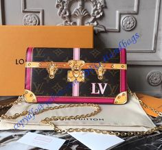 Upgrade your style with a Louis Vuitton Trompe L'oeil Screen Monogram Canvas Pochette Weekend Sales at wholesale rate- USD Free Worldwide Shipping by courier. Buy Louis Vuitton, Louis Vuitton Handbags, Louis Vuitton Speedy Bag, Designer Wallets, Luxury Handbags, Designer Handbags, Monogram Canvas, Cowhide Leather, Clutch Wallet