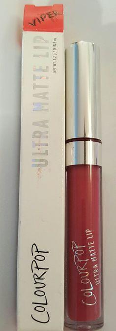 """Colourpop Ultra Matte  Lip in """"Viper"""", bnib."""