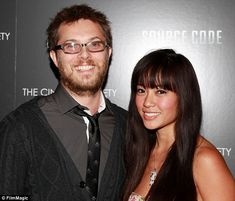 David Bowie's son, Duncan Jones, weds longtime girlfriend after she's diagnosed with breast cancer New York In March, David Bowie Starman, Son Of David, Father And Baby, I Love My Wife, Entertainment, David Jones, Funny Babies, The Ordinary