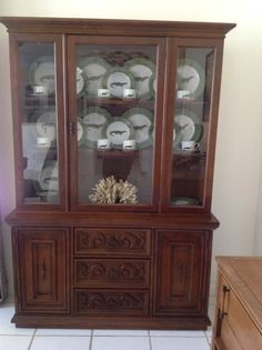 My new (old) china hutch