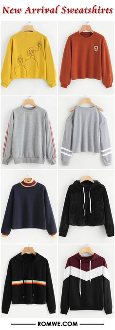 New Arrival Sweatshirts - romwe.com