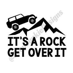 die 1086 besten bilder von jeep in 2019 jeep truck atvs und jeep Jeep CJ it s a rock get over it jeep wrangler jeep vinyl decal jeep decal