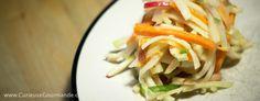 Recette de salade de chou.... de chou-rave