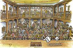 Escotillón en el tablado -  Corral de Comedias #teatro #SiglodeOro