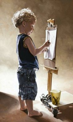 """The Artist's Son"", artist Bryan Larsen:"