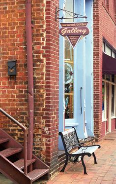 """""""Jonesborough, Tennessee Main Street"""" by Frank Romeo, New Jersey // Imagekind.com – Buy stunning, museum-quality fine art prints, framed prints, and canvas prints directly from independent working artists and photographers."""