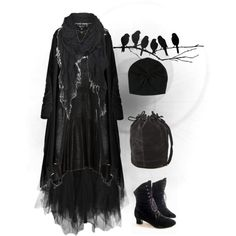 """Little Bird"" by pandora-hydrangea-velours on Polyvore"