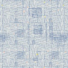 Terrain Slate in Blue, Yellow, Coral dots - Tule by Leah Duncan- Art Gallery Fabrics Textiles, Textile Prints, Textile Patterns, Textile Design, Art Patterns, Fabric Design, Retro Fabric, Cool Fabric, Screensaver