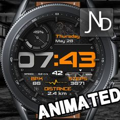 Watch Faces, Samsung, Animation, Watches, Wristwatches, Clocks, Animation Movies, Motion Design