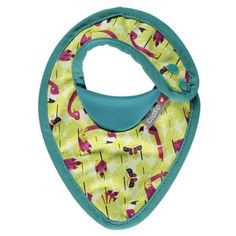 Babero Flamingo meses - My Little Zoo, baby shop Baby Shop, Flamingo, Lunch Time, Hats, Shopping, Stains, Raincoat, Tejidos, Flamingo Bird