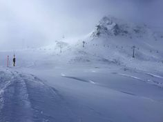 Epic instructor Two Meter Peter snow quality testing today. We are very happy to inform everyone that conditions are great and let the games begin. Swiss Alps, Ski And Snowboard, Winter Is Coming, Skiing, Powder, Mountains, Games, Happy, Travel