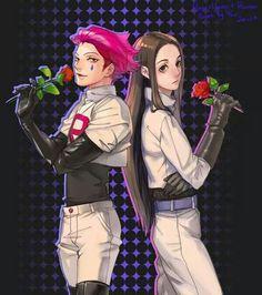 Hunter x Hunter ( Hisoka & Illumi) x Pockemon ( team rocket)