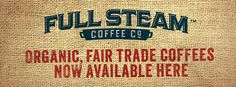 We're celebrating World Food Day by supporting small coffee farmers around the world, roasting only certified Fairtrade coffee at the Full Steam Coffee Company.